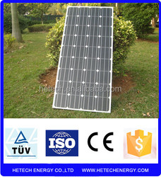 Monocrystalline 130w solar panels for home with low price