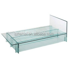 custom acrylic bed or plexiglass bedroom furniture