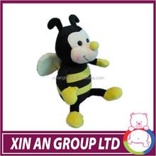 Toysrus supplier tiny stuffed animals lamaze toy bee cute plush toys
