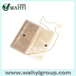 2015 Cute Aluminum Bag Latest Fashion Women Clutch Bag