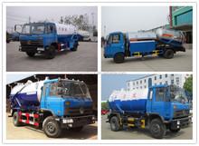 4*2 6000L-20000L vacuum tank truck, used vacuum sewage suction truck 95-250ps suction truck for sale
