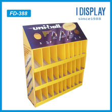 cardboard paper display stand for uniball pen