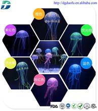 2015 Hot Selling Newest Artificial Jellyfish/ Silicone Aquarium Decoration/ Fish Aquarium Accessories