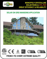 HOT SALE BLACK CELLS MONO CRYSTALLINE SOLAR PANELS, FULL CERTIFIED MONO POLY SOLAR MODULES, SOLAR PV PANELS WITH GOOD PRICES