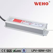 Constant voltage led driver waterproof 12v 4.2a 50w led power supply