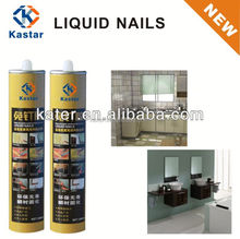 All purpose optically clear adhesive liquid nails,super construction adhesive