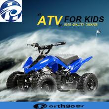 2015 new china Hot sale Latest steel kids 50cc quad atv 4 wheeler For Kids