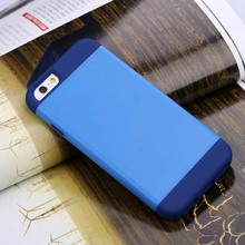 2014 new promotion factory silicone and PC material wholesale cheap mobile phone housing