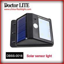 2015 Solar sensor light ,Power Motion Sensor Garden Blinking Led Solar Light Kits System