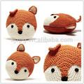 Ganchillo hecho a mano almohada, crochet almohada animal, de los animales en forma de almohada
