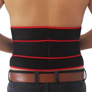 La cintura de neopreno soporte abrazadera, protector de espalda cojines