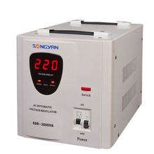2014 hot sale single phase relay type voltage stabilizer, ac voltage stabilizer, home voltage regulator for refrigerator