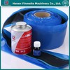 canvas conveyor belt reinforced rubber strips