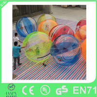 pvc & tpu materials available inflatable bubble ball water, water walking ball for sale