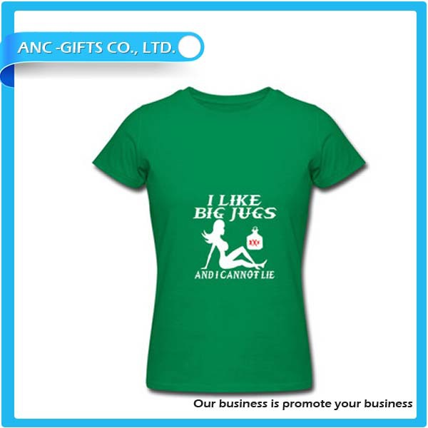 Promotioanl Custom T Shirt Printing Blank T Shirt From