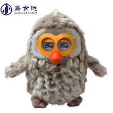 Owl Shape Talking robot for sale , electric robot for kids , kids educational toy robots