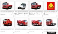 SINOTRUK 4x4 cargo truck