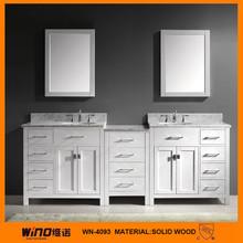 White Marble Vanity Top/ Ceramic Sink bathroom furniture/vanity fair bathroom furniture