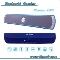 Subwoofer Bluetooth Stereo Speaker with Dual Speakers and Enanced Bass Resonator, FM Built-in Mic, LED