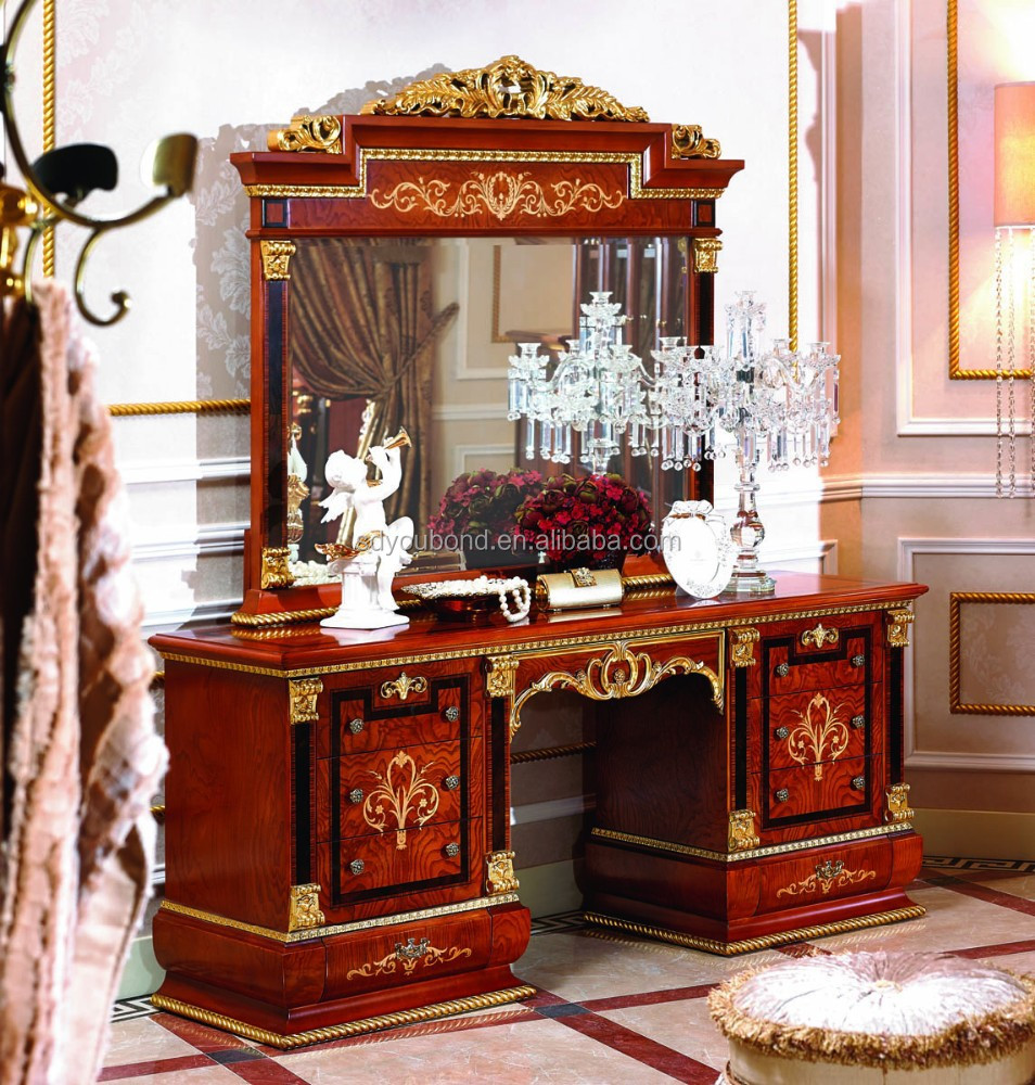 Wooden Dressing Table Designs For Bedroom : Wooden Dressing Table Designs For Bedroom 0038-1 europe antique wooden ...