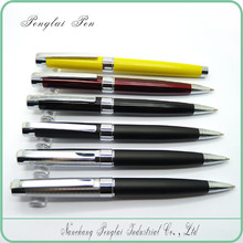 2015 High quality logo imprint promotional gift metal deluxe pen