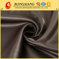 China supplier Soft Garment recycled polyester satin fabric for formal dress