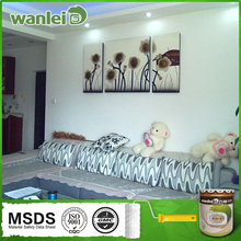 Colores suaves, no tóxico pintura de emulsión para las paredes