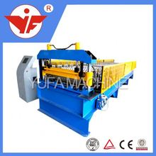 fully automatic double layer on discount ! 1000 glazed tile roof roll forming machine roof tile