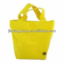 Eco Friendly durable canvas tote bags with zipper closure