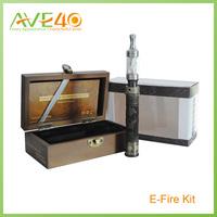 2013 newest products wooden e-fire wood vv kit e-fir x.fir present