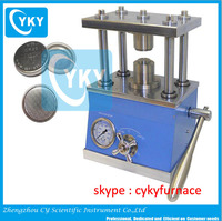 button cell sealing machine crimping machine crimper for coin cell / hydraulic crimper