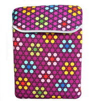 Wholesale Fashion Colorful Neoprene Laptop Sleeve for Macbook 11'', 13'', 15.6'' , 17'' inch