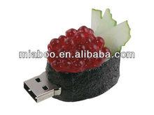 Sushi fruit usb 2.0 Japan sushi set bulk at factory reasonable price