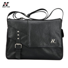 Hot selling genuine leather men messenger bag fashion exporting bag