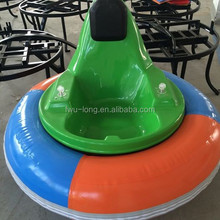 Newest Lowest Price Fwulong Brand Amusement Rides FRP Body Kids And Adults UFO Inflatable Battery Bumper Car Manufacturers