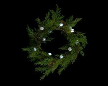 Christmas Wreath Lighed Balls!!! Colorful Waterproof Battery Operated Led Fairy Lights For Costume Decoration