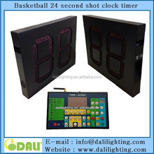 LED digital outdoor basketball 24 seconds with timer functions