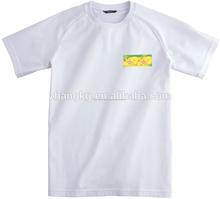 De encargo impresión de pantalla de seda, Venta de la fábrica unisex t shirt, De china ropa