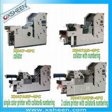 máquina de numeración impresora