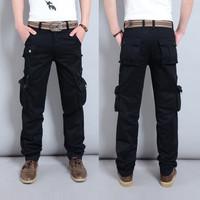 Men's Ranger Work Wear Utility Cargo Pants Overalls military men casul pant