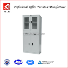 High Quality Models Steel Filing/File Cabinet with Glass Doors