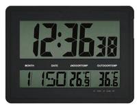 lcd digital wall clock/ large electric wall clock