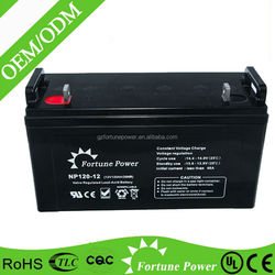 Look !! hot producting long life solar cell 120ah 12volt battery