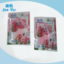 Promotional gifts floral fresh fragrance bead air fresheners.