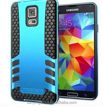 mobile phone case/case for samsung galaxy S5/TPU+PC phone back cover