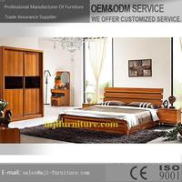 New style new arrival wood self assembly bedroom furniture