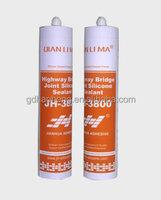 Good bonding silicone adhesive for metal