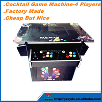 The cocktail table mini arcade game machine with 2019 games in 1
