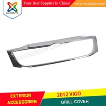 Chrome Front Grill Grille Cover Trim Toyota Hilux Vigo Champ Mk7 12 Pick up