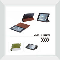 Ultra-thin Sleep Leather Case for iPad mini